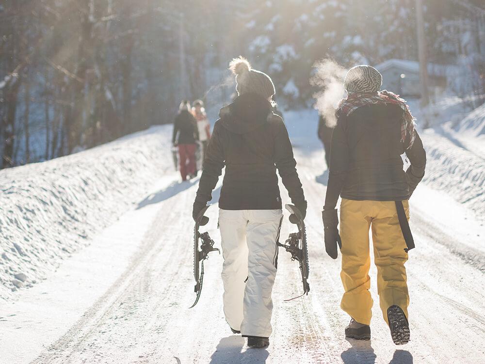 Deportes de invierno y problemas de cadera y rodilla